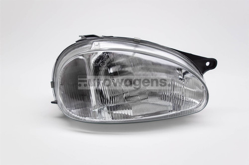Headlight right Vauxhall Corsa B 93-00 Hatchback