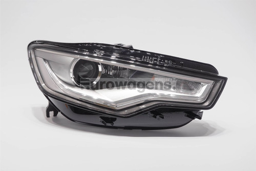 Headlight left bi-xenon LED DRL with AFS Audi A6 4G 11-14