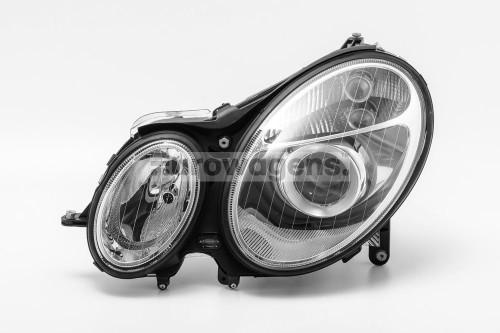 Headlight left Mercedes Benz E Class W211 03-06
