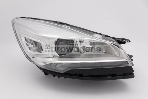 Headlight right xenon LED DRL Ford Kuga 13-16