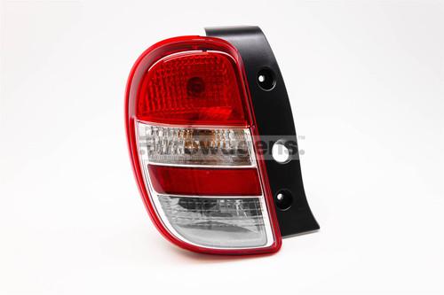 Rear light left Nissan Micra 10-13