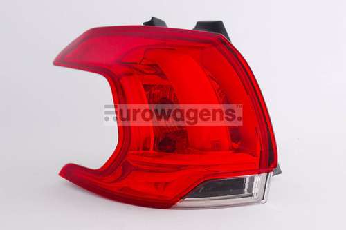 Rear light left Peugeot 2008 13-16