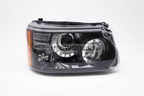 Headlight right bi-xenon adaptive LED DRL Range Rover Sport 09-13