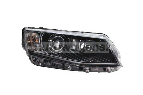 Headlight right xenon LED DRL Skoda Octavia 13-16