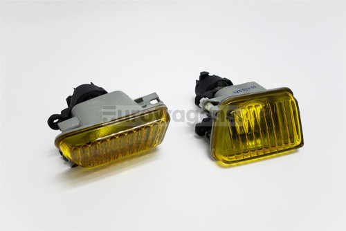 Front fog lights set yellow VW Golf Jetta MK2