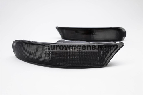Front bumper indicators set black Subaru Impreza 93-98 Estate