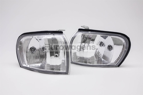 Front indicators set crystal clear Subaru Impreza 93-98