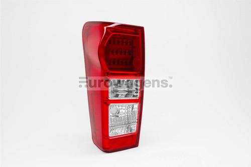 Rear light left LED Isuzu D max 12-16