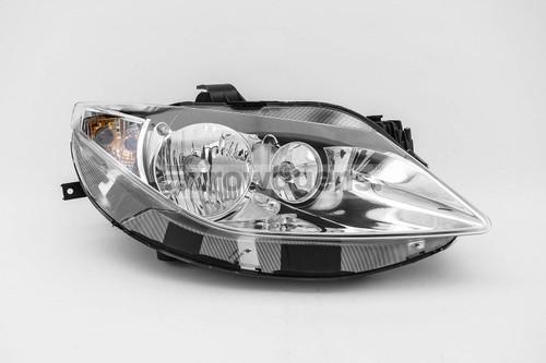 Headlight right chrome Seat Ibiza 08-11
