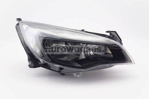 Headlight right black DRL Vauxhall Astra J MK6 13-15