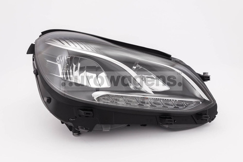 Headlight right Mercedes Benz E Class W212 LED DRL 13-16