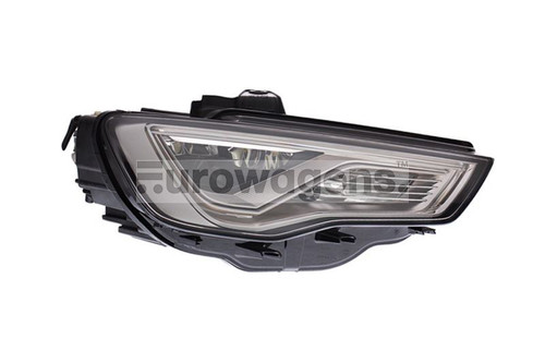 Headlight right bi-xenon full LED with AFS Audi A3 12-16