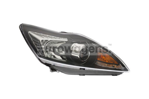 Headlight black right Bi-Xenon LED DRL AFS Ford Focus MK2 08-10