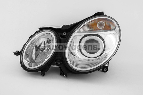 Headlight left Bi-Xenon Mercedes Benz E Class W211 03-06