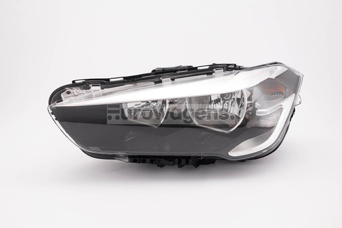 Headlight left LED DRL BMW X1 F48 15-17