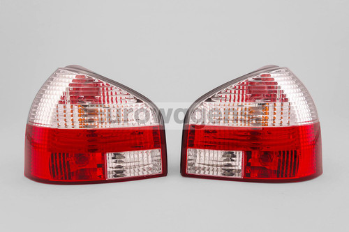 Rear lights set clear red Audi A3 8L 96-03