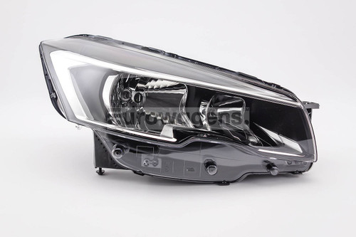 Headlight right Peugeot 508 15-17
