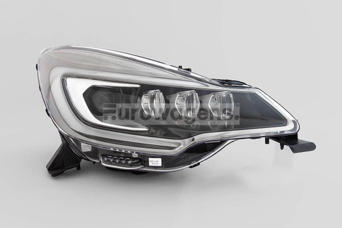 Headlight right black bi xenon LED DRL Ciroen DS3 13-15