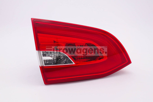 Rear light left inner Peugeot 308 SW 14-17 Estate