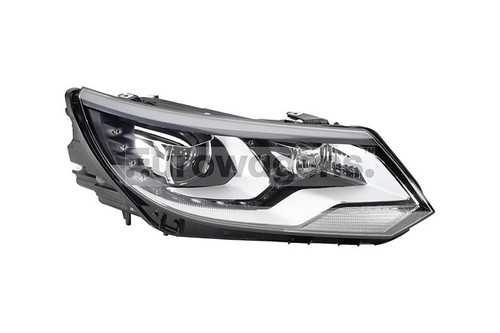 Headlight right black Bi-xenon LED DRL AFS VW Tiguan 11-16