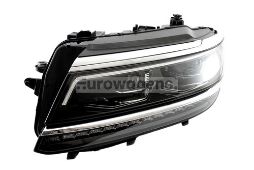 Headlight left LED adaptive VW Tiguan 16-