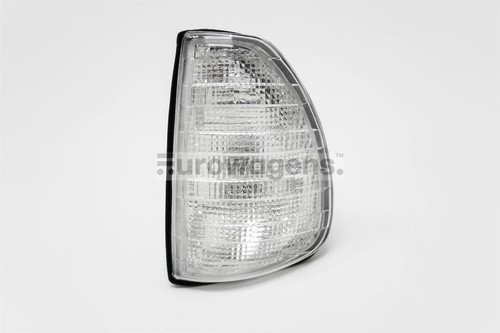 Front indicator left clear Mercedes W123 75-85