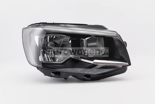 Headlight right black VW Transporter T6 16-18 Valeo