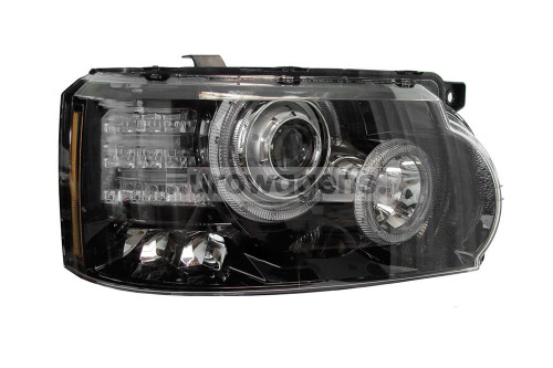 Headlight right bi-xenon LED DRL Range Rover Sport 12-13