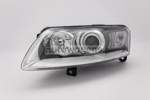 Headlight left xenon Audi A6 04-08