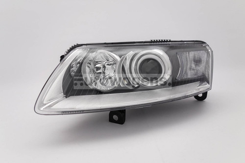 Headlight left xenon Audi A6 04-08
