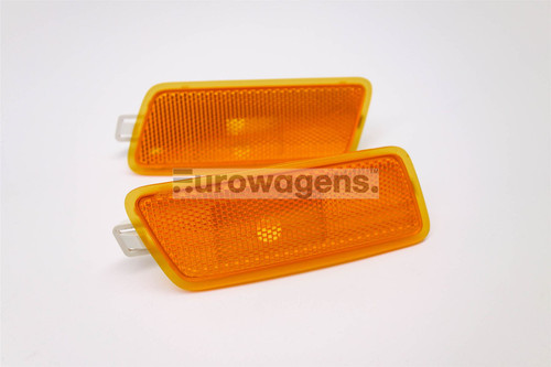 Sidemarker light set orange VW Golf MK5 Jetta MK3