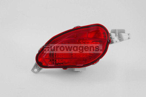 Rear bumper fog light left Toyota Yaris 14-17