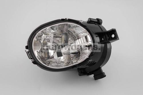 Daytime running light LED with fog light left Volvo XC70 13-17