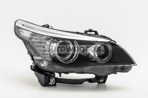Headlight right LED DRL BMW 5 Series E60 E61 LCI 07-10