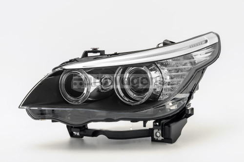 Headlight left LED DRL BMW 5 Series E60 E61 LCI 07-10