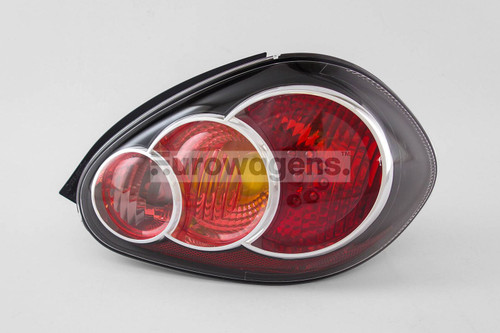 Rear light right black Toyota Aygo 09-14