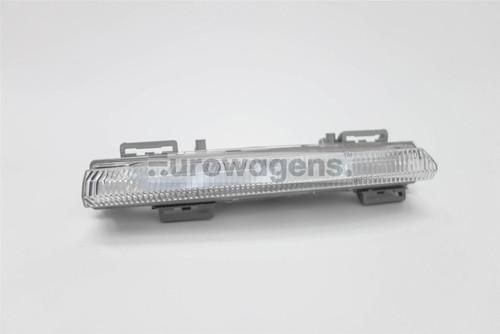 Front bumper LED DRL light left Mercedes-Benz E Class C207 09-12 Coupe