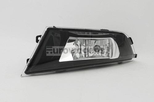 Front fog light left with bulb Skoda Fabia 15-17