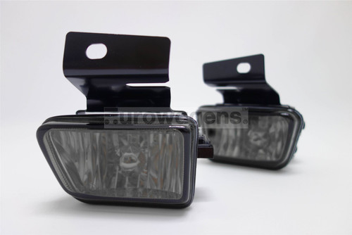 Front fog lights set smoked VW Golf Jetta MK2