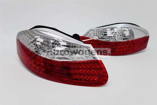 Rear lights set clear/red LED Porsche Boxter 986 96-04
