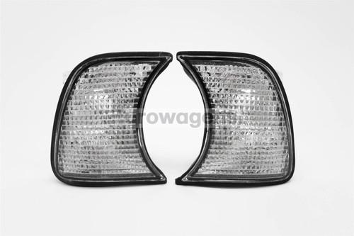Front indicators set clear BMW 5 Series E34 87 97