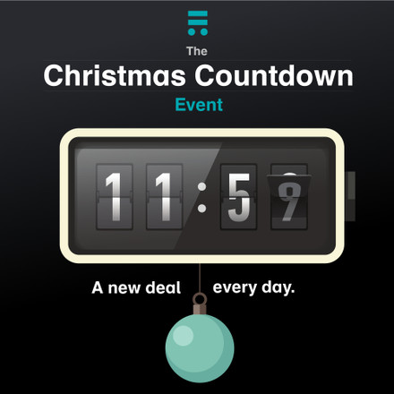 Christmas Countdown! One amazing deal, for one day, every day in December