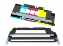 HP (124A) Q6001A Compatible ColorLaserJet Toner - Cyan. Approximate yield of 2000 pages (at 5% coverage)