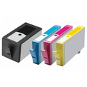 HP C4909AN Compatible Ink - Yellow # 940 XL