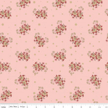 Romancing in the past  C4274-ROSE 1/2 Metre Length