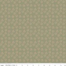 Romancing in the past C4275-GREEN 1/2 Metre Length
