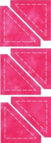 55319 - AccuQuilt Die -  Half Square Triangle