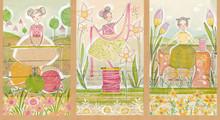 Blend Fabrics - The Makers 01 1/2 Metre Length