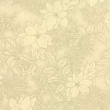 Metallic Poinsettia - 33002 - Cream 1/2 Metre Length