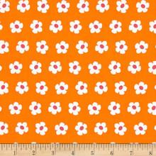 Whatever The Weather - Orange Flowers